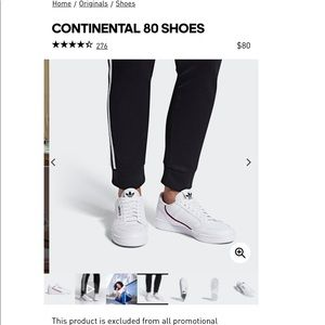 Adidas Continental 80!